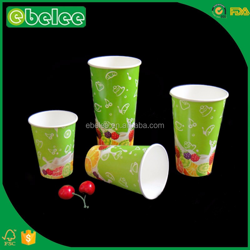 EBELEE disposable soda paper cup price