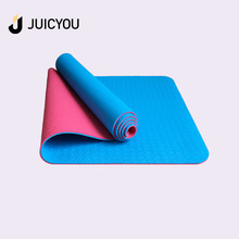 High quality machine grade Eco TPE yoga mat 6mm extra thick cushion Exercise Fitness Home Gym