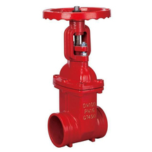 Z81X Fire fighting water rising stem gate valve