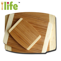 Bamboo cutting board tools natural bamboo cheese board set 3 piece custom cutting board
