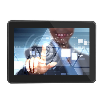 10 inch open frame / Wall Mounted LCD Digital Signage touch screen monitor