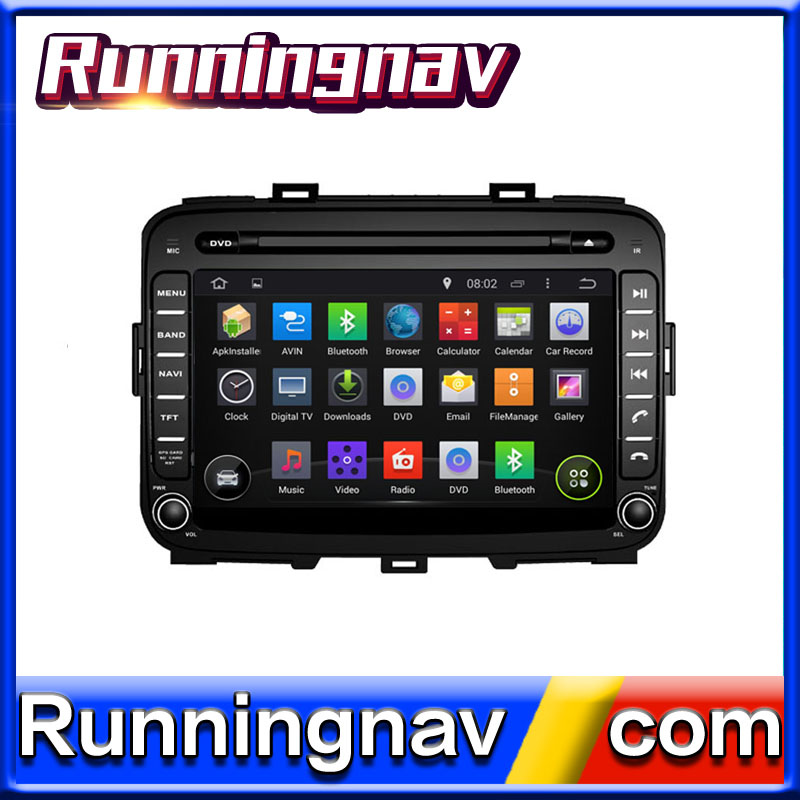 Android FOR KIA carens 2 din car radio with ipod , iphone , bt ,gps ,rds/tmc ,dvd /cd