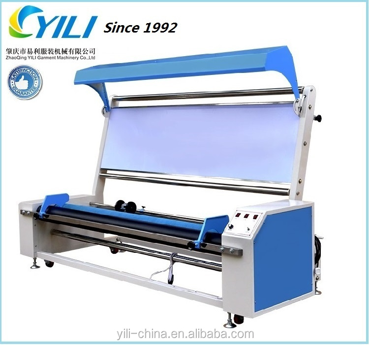 Fabric winding inspection machine for industry processing, fabric length counter