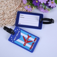 Airplane Luggage Tag Pvc Luggage Tag