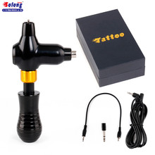 Solong New Rotary Tattoo Machine Gun Permanent Makeup TW Motor Adjustable Grip wholesale tattoo machine rotary professional