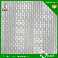 stainless steel embossed sheet (linen pattern) 12 ga stainless steel