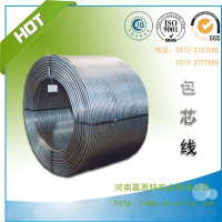 Qualified Ca cored wire used in steelmaking