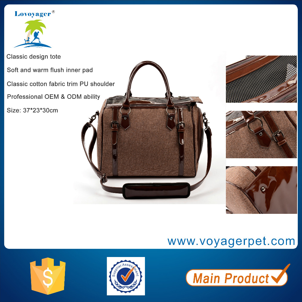 Lovoyager Classic Cotton Pet Carrier cheap dog carrier bags Cat Carrier Bags