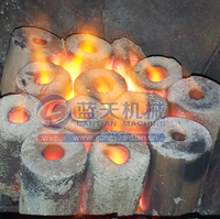 Large capacity supplied green charcoal briquettes smokeless charcoal for bbq