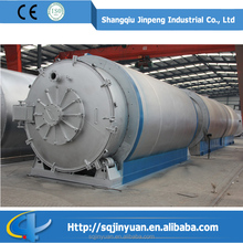 Highest Quality Tyre Recycle Pyrolysis Machine with Strong Dust Remove System