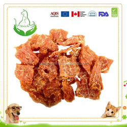 dry organic dog food duck slice pet snack dog treat