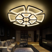 Creative living room lights Luxury bedroom modern restaurant Led ceiling Lamp with 12 fan lights