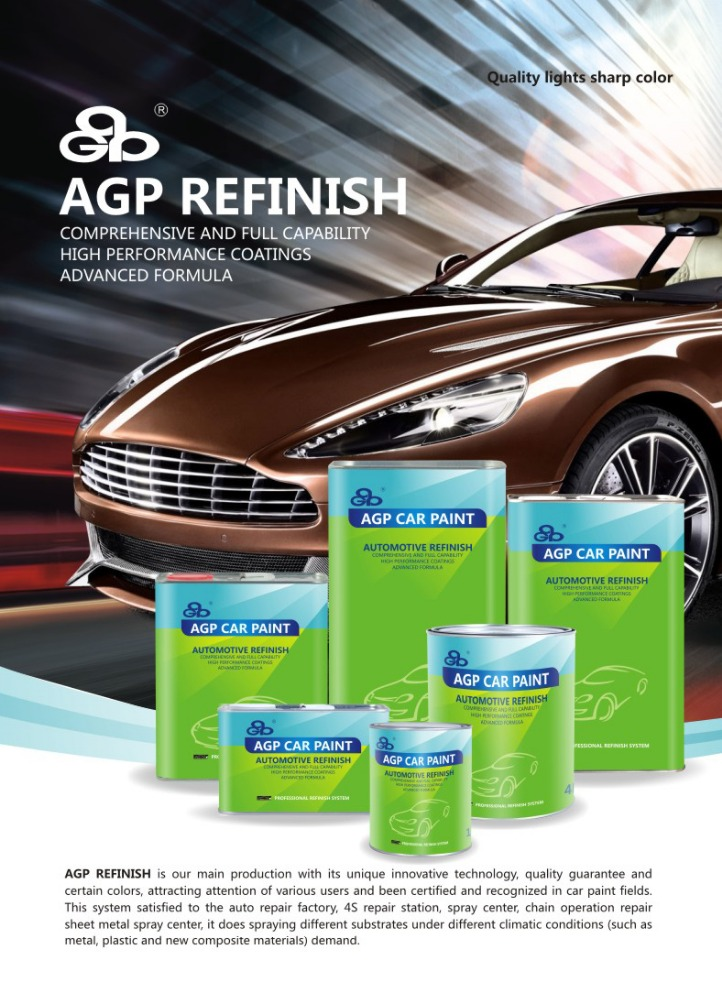 Car Body Repair Paint for 2K Solid Paint