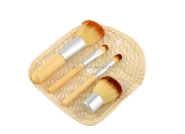 4pcs Blusher Makeup Brush Professional Make Up Beauty Blush Foundation Contour Powder Cosmetics Brush Makeup
