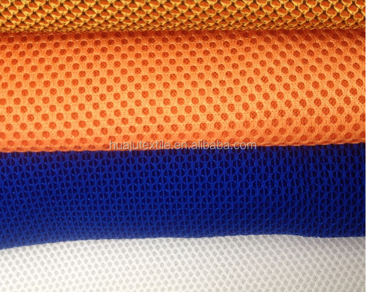 Cheap Plain Dyed 3D Spacer Polyester Air Foam Mesh Fabric Materials Used For Bed Mattress Pads Shoe Making