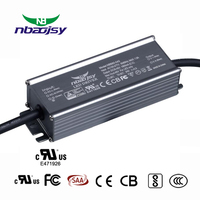 100v dc output ip67 waterproof 10-100w led street light driver