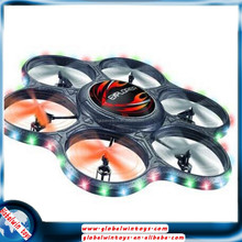 Popular outdoor toy ufo quad copter 6 axis 3D stunt 2.4g rc model airplane big helicopter drone large scale model airplane