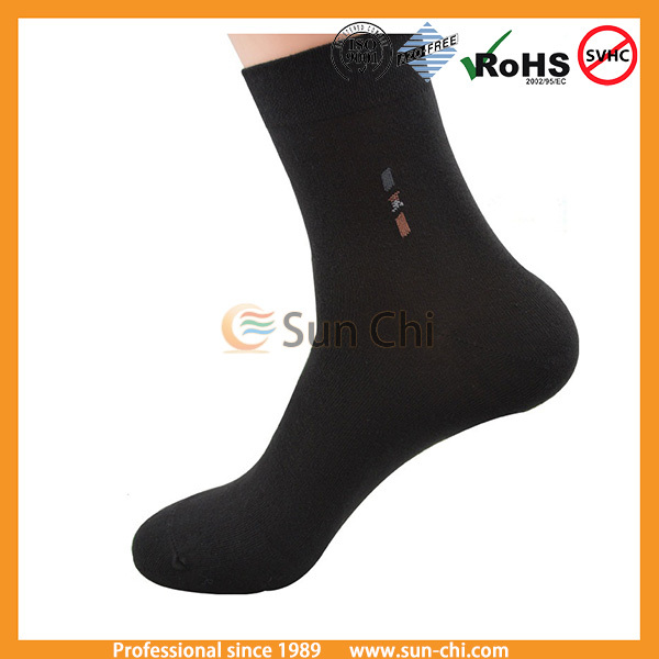 100% mens nylon feet tube socks white crew socks