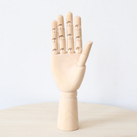 High Quality Finger Model Articulation Art Model Wooden Hand Can Put Small Things