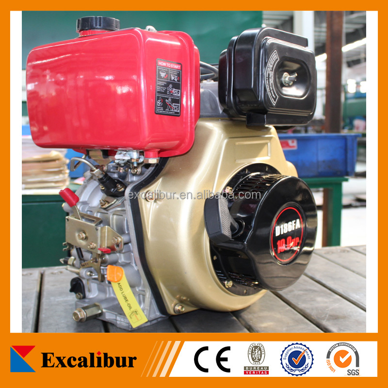 7hp air cooled single cylinder diesel engine 178f