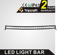 Crees Curved 10w led chip high power 50 inch 24 volt led light bar 240w