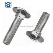 Haiyan fasteners DIN603 flat head square neck anchor bolts and nut