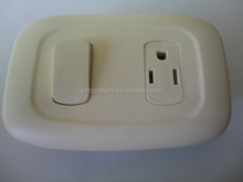 3way designer electrical switches and socket