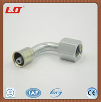 NPT ORFS flat seal female pipe connector elbow tube