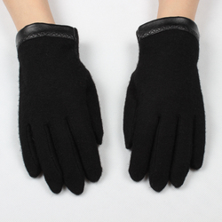 New design spring autumn winter men's warm touch screen gloves