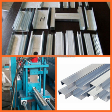 Light Steel Keel Roll Forming Machine Metal Stud Track Steel Guage Frame Ceiling Making Machine With C U W Omega Profile Shape