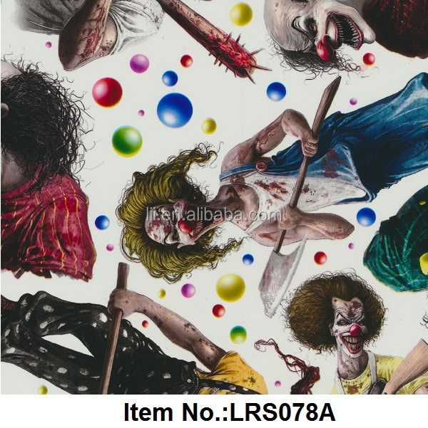 No. LRS075A Exclusive Cubic Print Hydrographic film & Hydro Water Transfer Printing Film Liquid Image