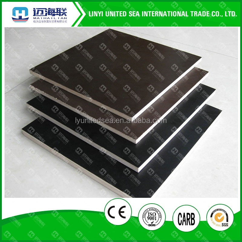 18mm dynea black film faced plywood China product