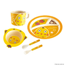 german children tableware kids 5 Piece Toddler Dinnerware Set