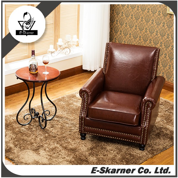 E-Skarner hotel single recliner commercial coffee single seat sofa