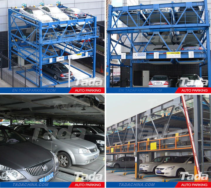 PSH Parking Replacement Automated Car Smart Parking Lift System