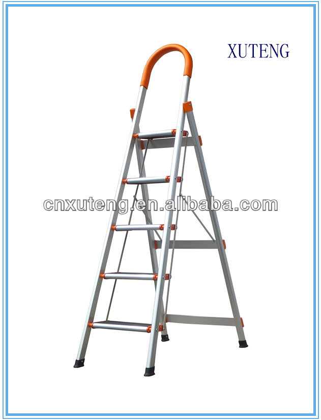 Ladder tree stands folding,Aluminium folding safety step ladders with handrail