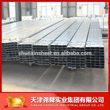Alibaba website pre galvanized rectangular steel pipe