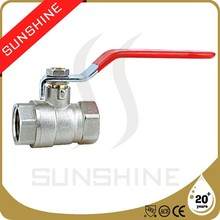 SS-1001 CE Certification High Quality Brass Ball Valve Price