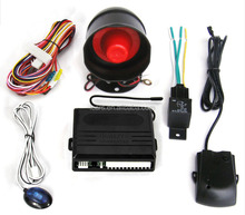 customized 12v/24v Available remote control anti-hijacking car finder auto security one way car alarm system