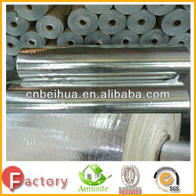 High temperature of facing on glass wool blanket