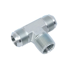 steel male thread jic tee fitting
