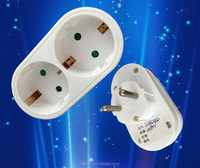 YiWu No.1 220v v german style 2 pin electrical plug socket with shutter