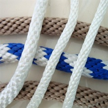 China Good solid braid polypropylene rope for iron pipe welding