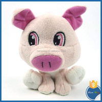 new products for 2016 juguete plush material pig kids toy