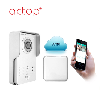 ACTOP High Quality Wireless Best Wifi Doorbell with App Control