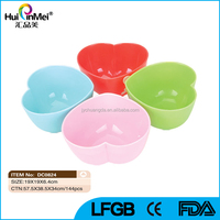 Heart Shape Kids Plastic Bowl