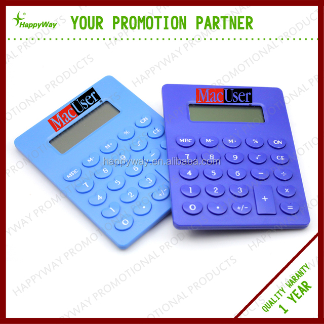 Hot Selling Fancy Calculator 0702021 MOQ 100PCS One Year Quality Warranty