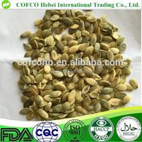 AA grade pumpkin seeds for bakery