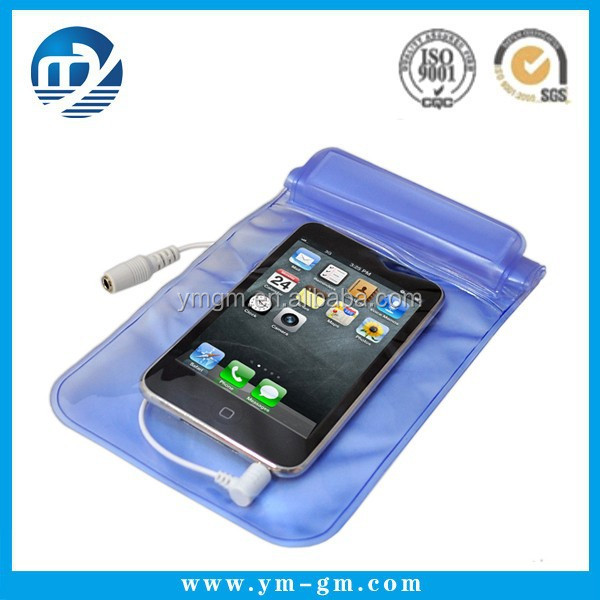 Cheap pvc phone waterproof case / cell phone waterproof dry bag / floating waterproof phone bag