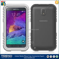 cell phone accessory dirt proof snow proof shockproof waterproof celular cover for samsung galaxy note 4